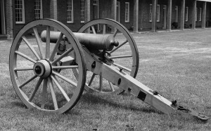Picture of Civil War Field Cannon