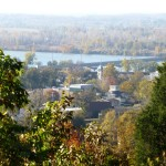 Photo from bluff overlooking Van Buren, Arkansas